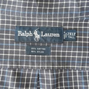 Polo by Ralph Lauren 2XLT Big Men's Shirt